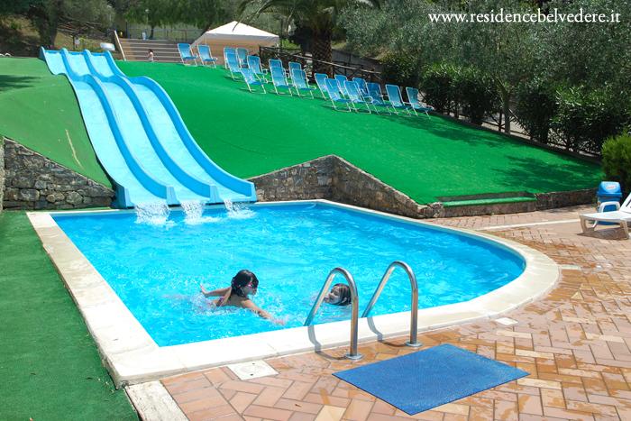 Residence belvedere appartamenti ascea per vacanze al for Allergia al cloro delle piscine